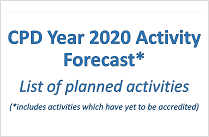 CPD Year 2020 Activity Forecast